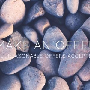 !!Reasonable offers accepted!!
